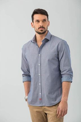 CAMISA ANCLAS REGULAR