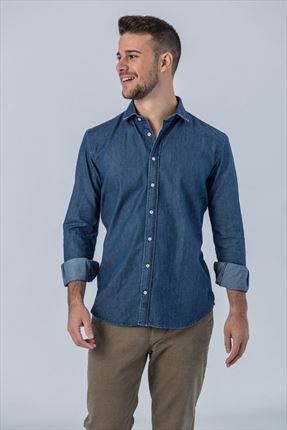 CAMISA DENIM DEEP REGULAR FIT