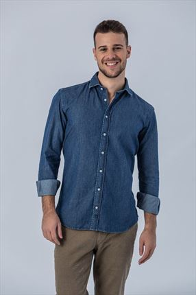 CAMISA DENIM DEEP SLIM FIT