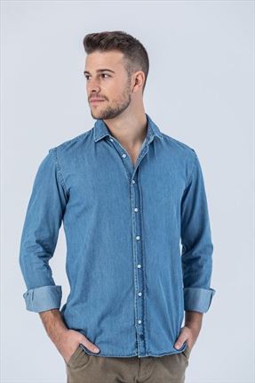 CAMISA DENIM SKY REGULAR FIT