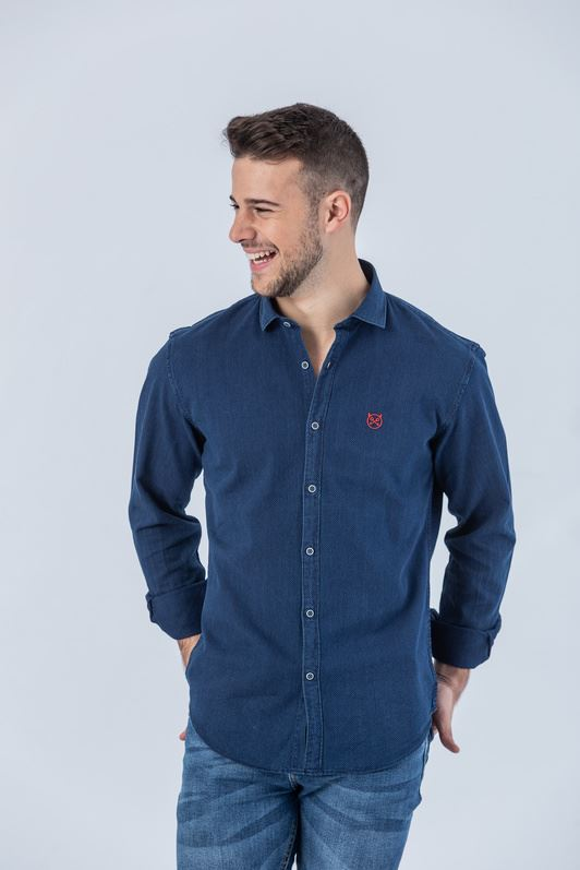 CAMISA NAVY BLUE REGULAR