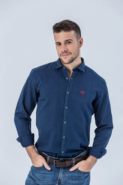 CAMISA NAVY BLUE REGULAR (1)