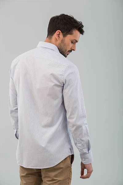 CAMISA OXFORD RAYAS SLIM (1)