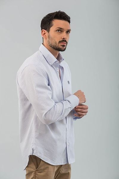 CAMISA OXFORD RAYAS REGULAR (2)