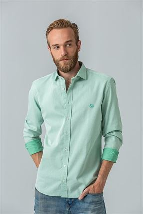 CAMISA VERDE REGULAR ITALIANO