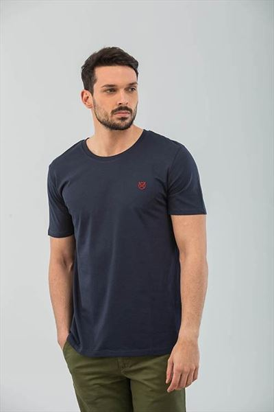 CAMISETA NAVY LOGO BORDADO (1)