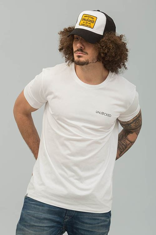 CAMISETA MOTORCYCLES BLANCO
