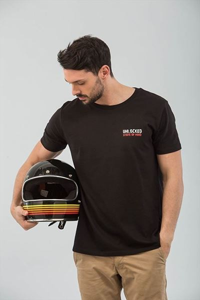 CAMISETA RIDING IS A STATE OF MIND NEGRO (2)