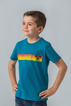 CAMISETA KIDS SUNSET BLUE
