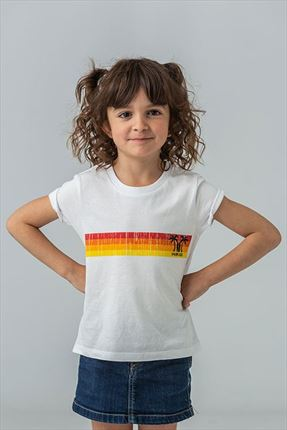 CAMISETA KIDS SUNSET WHITE