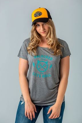 CAMISETA THUNDER WOMAN GRAY