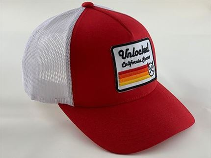 GORRA PREMIUM SUNSET RED