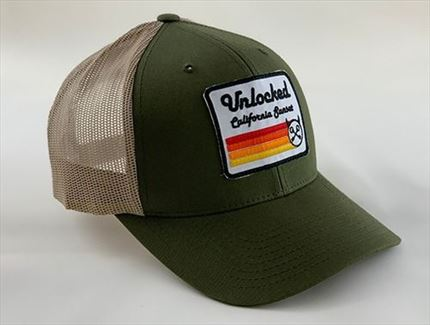 GORRA PREMIUM SUNSET GREEN