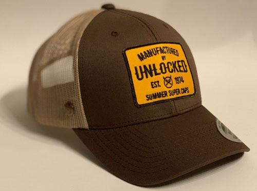 GORRA PREMIUM TRUCKER BROWN